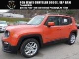 2016 Omaha Orange Jeep Renegade Latitude #109391082