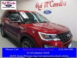 2016 Ruby Red Metallic Tri-Coat Ford Explorer Sport 4WD #109390950
