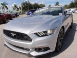 2015 Ford Mustang V6 Convertible Front 3/4 View