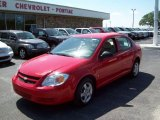 2007 Victory Red Chevrolet Cobalt LS Sedan #10933311