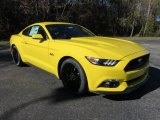 2016 Triple Yellow Tricoat Ford Mustang GT Coupe #109411910