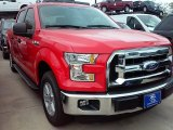 2015 Race Red Ford F150 XLT SuperCrew #109444795
