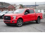 2016 Race Red Ford F150 XLT SuperCrew 4x4 #109444914