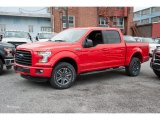 2016 Race Red Ford F150 XLT SuperCrew 4x4 #109444910