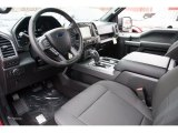 2016 Ford F150 XLT SuperCrew 4x4 Black Interior