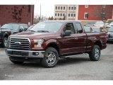 2016 Bronze Fire Ford F150 XLT SuperCab 4x4 #109444909