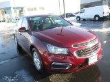 2016 Siren Red Tintcoat Chevrolet Cruze Limited LT #109445025