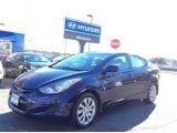 2012 Indigo Night Blue Hyundai Elantra GLS #109445142