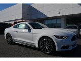 2016 Oxford White Ford Mustang EcoBoost Coupe #109444891