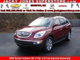 2009 Red Jewel Tintcoat Buick Enclave CXL #10935642