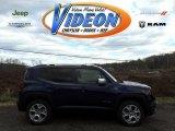2016 Jetset Blue Jeep Renegade Limited 4x4 #109445130