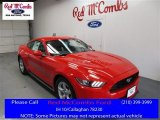 2016 Race Red Ford Mustang V6 Coupe #109444808
