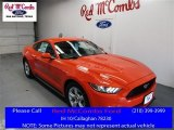 2016 Competition Orange Ford Mustang V6 Coupe #109444807