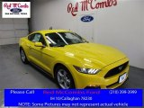 2016 Triple Yellow Tricoat Ford Mustang V6 Coupe #109444806