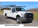 2012 Oxford White Ford F250 Super Duty XLT Regular Cab 4x4 #109445107