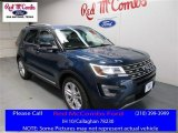 2016 Blue Jeans Metallic Ford Explorer XLT #109444805