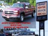 2006 Sport Red Metallic Chevrolet Silverado 1500 Z71 Crew Cab 4x4 #10935785