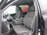 2016 Chevrolet Silverado 1500 LT Crew Cab 4x4 Jet Black Interior
