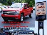 2007 Victory Red Chevrolet Silverado 1500 LT Z71 Crew Cab 4x4 #10935738