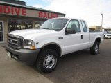 2002 Oxford White Ford F250 Super Duty XL SuperCab 4x4 #109481504