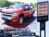 2008 Victory Red Chevrolet Silverado 1500 LT Crew Cab 4x4 #10935760