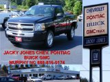 2009 Black Chevrolet Silverado 1500 LT Regular Cab 4x4 #10935671