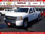2009 Summit White Chevrolet Silverado 1500 LT Extended Cab 4x4 #10935659