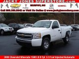 2009 Summit White Chevrolet Silverado 1500 LS Regular Cab 4x4 #10935655