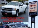 2009 Summit White Chevrolet Silverado 1500 LS Extended Cab 4x4 #10935645