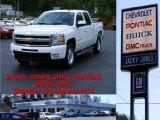 2009 Summit White Chevrolet Silverado 1500 LTZ Crew Cab 4x4 #10935646