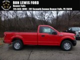 2016 Race Red Ford F150 XL Regular Cab #109503779