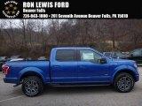 2016 Blue Flame Ford F150 XLT SuperCrew 4x4 #109503776