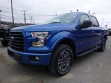 2016 Ford F150 Blue Flame
