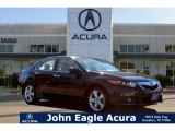 2009 Crystal Black Pearl Acura TSX Sedan #109503627