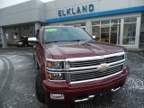 2014 Deep Ruby Metallic Chevrolet Silverado 1500 High Country Crew Cab 4x4 #109541580