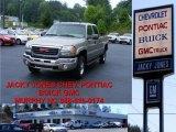2003 Pewter Metallic GMC Sierra 2500HD SLT Crew Cab 4x4 #10935743
