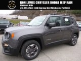 2016 Granite Crystal Metallic Jeep Renegade Latitude #109559369