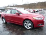 2016 Ruby Red Metallic Ford Fusion SE AWD #109559275
