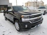 2016 Black Chevrolet Silverado 1500 High Country Crew Cab 4x4 #109582999