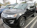 2016 Ford Explorer Platinum 4WD Front 3/4 View