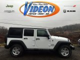 2016 Bright White Jeep Wrangler Unlimited Sport 4x4 #109583202