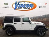2016 Bright White Jeep Wrangler Unlimited Rubicon Hard Rock 4x4 #109583200
