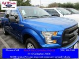 2016 Blue Flame Ford F150 XL SuperCrew #109582483