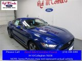 2016 Deep Impact Blue Metallic Ford Mustang V6 Coupe #109582465
