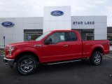 2016 Race Red Ford F150 XLT SuperCab 4x4 #109583180