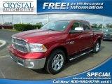 2014 Deep Cherry Red Crystal Pearl Ram 1500 Laramie Crew Cab 4x4 #109583085