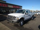 2004 Oxford White Ford F250 Super Duty XL SuperCab 4x4 #109583173