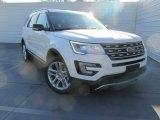 2016 White Platinum Metallic Tri-Coat Ford Explorer XLT #109582841