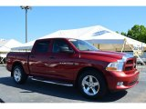 2012 Deep Molten Red Pearl Dodge Ram 1500 Express Crew Cab #109582775