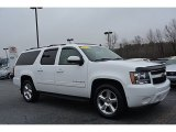 2011 Summit White Chevrolet Suburban LT #109582774